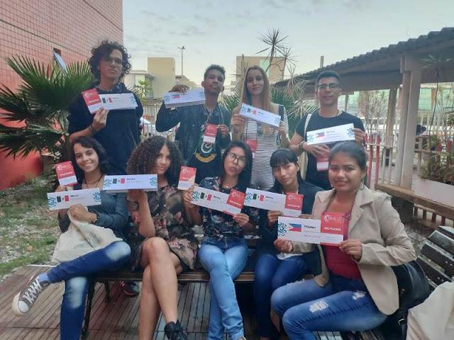 Delegação de Guajará-Mirim participa de Simulação das Nações Unidas para Alunos Secundaristas