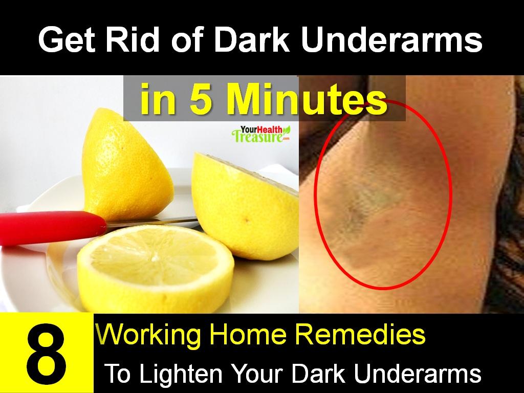 How To Lighten Dark Underarms In 5 Minutes Working Home