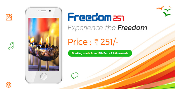 Buy Online Freedom 251 Smart Phone