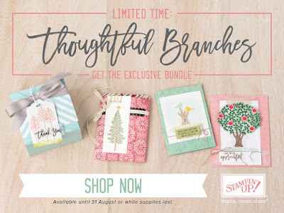 Thoughtful Branches from Stampin' Up! UK - Get This Bundle Here While You Can!