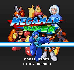 megaman super 16 bits