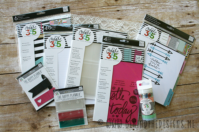 Planner Basics for The Happy Planner by MAMBI | Behind the Designs DIY Craft Blog