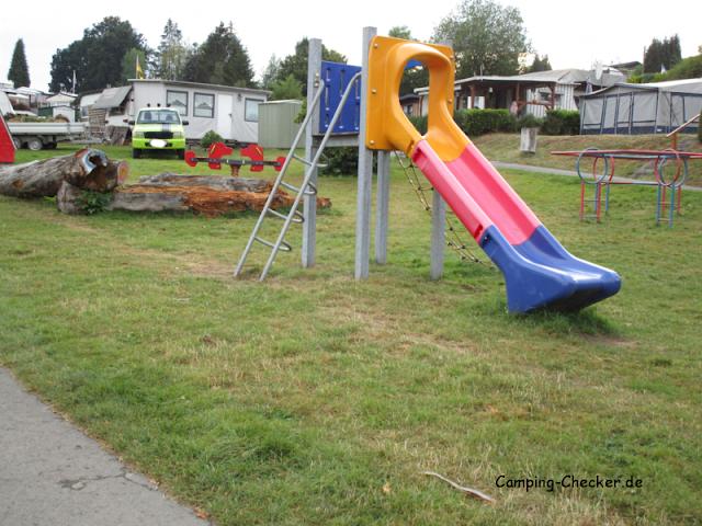 Spielplatz des Campingplatz Seeblick