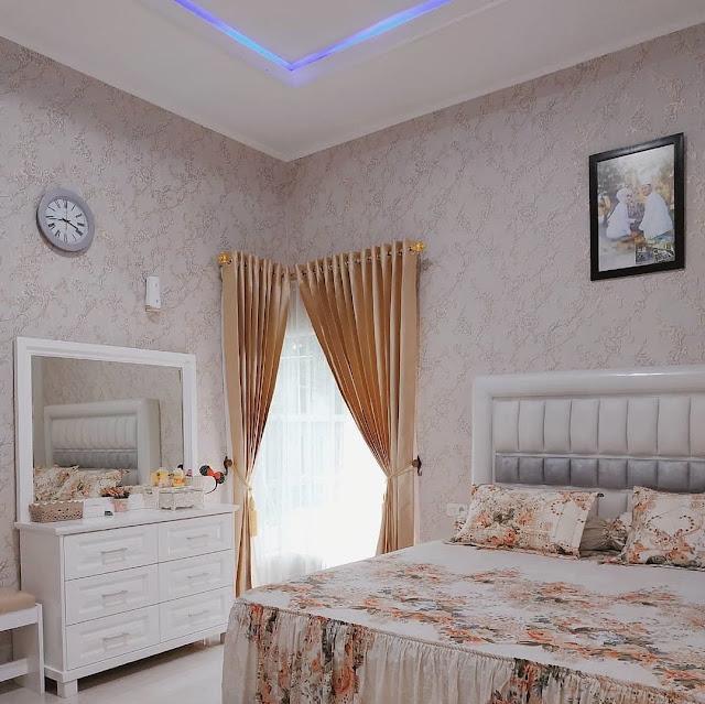 Motif Wallpaper Dinding Kamar Tidur Terbaru