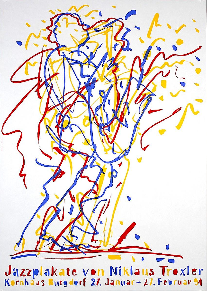 a Niklaus Troxler poster for a jazz performance