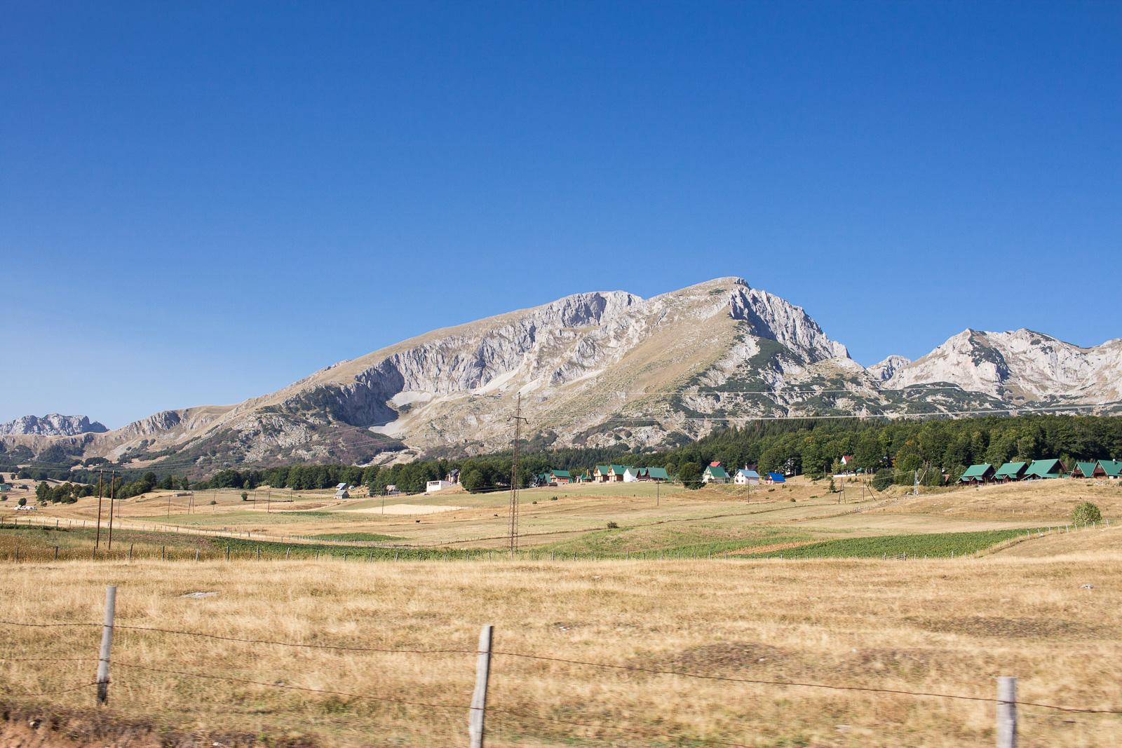 Unser Roadtrip nach Montenegro - Durmitor Gebirge in der Nähe von Zabljak