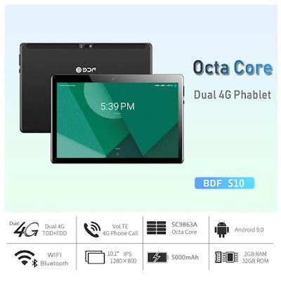Octa Core Dual 4G Tablet