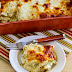 Green Chile and Chicken Mock Enchilada Casserole