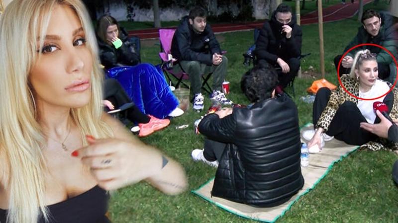 İrem Derici'ye sosyal mesafesiz piknik cezası