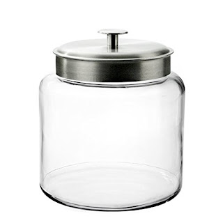 anchor hocking glass dry goods storage for a made in america wedding registry