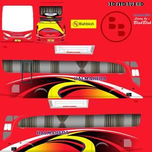 livery bussid hd sumatera halmahera