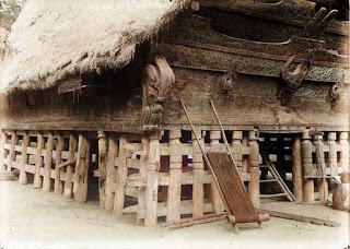 rumah bolon di hutaraja samosir