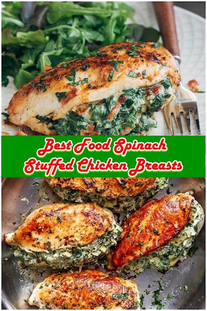 #Spinach #Stuffed #Chicken #Breasts