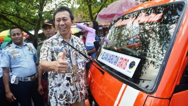 Kebumen Luncurkan Angkutan Gratis di 26 Kecamatan