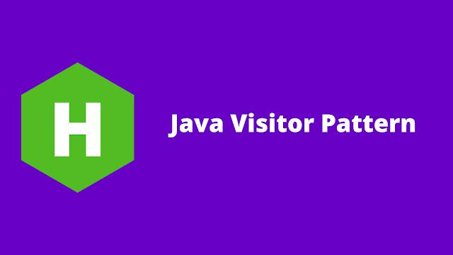 HackerRank Java Visitor Pattern problem solution