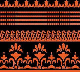 Vector-border-for-textile