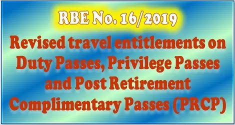 travel-entitlement-railway-board-order