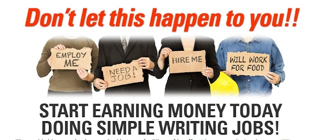 HOW TO START EARNING MONEY TODAY DOING SIMPLE WRITING JOBS!