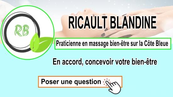 Praticienne en massage bien-être sur la Côte Bleue;