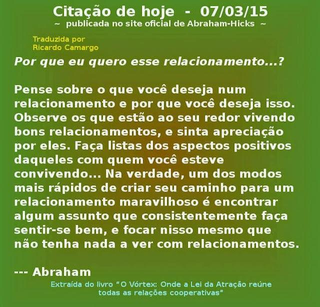 Abraham Hicks, citações diárias