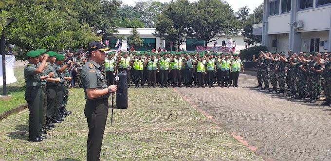 Dandim Depok Pimpin Pengamanan   Kunjungan Silaturahmi Presiden