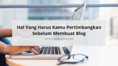 langkah langkah memulai blog