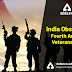 India observed Fourth Armed Veterans Day