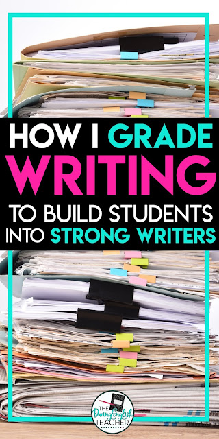 Grading Writing: My philosophy to help students become better writers