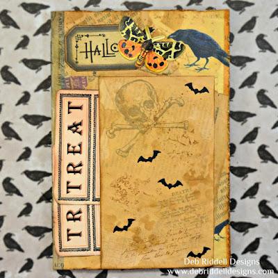 Halloween Folio Insert Front