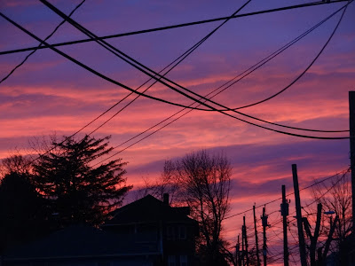 Such a beautiful sky...except for the power lines...