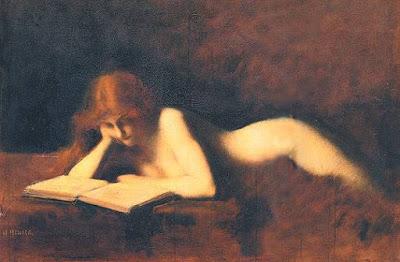 Jean Jacques Henner - La liseuse