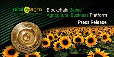 LocalAgro - منصة الأعمال الزراعية القائمة على Blockchain
