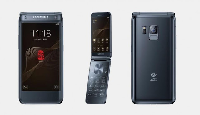 Samsung Flip Premium W2018 Resmi Dirilis dengan Harga Fantastis