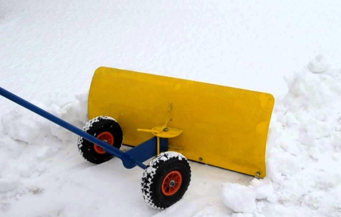 приспособление для чистки снега своими руками