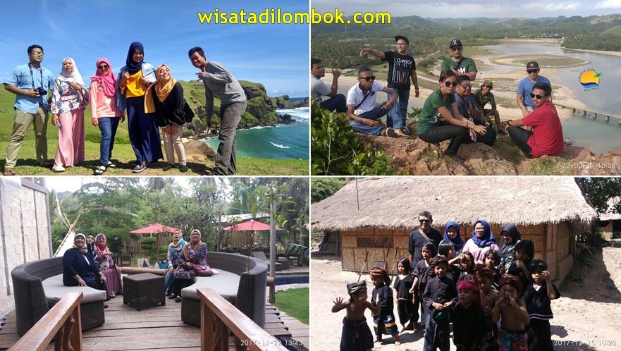 Mengunjungi Objek Wisata Lombok Tengah Kuta Tour