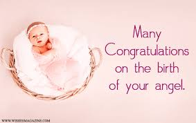 Adorable And Lovely congratulations message for new baby
