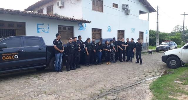 Cinco Vereadores  são presos suspeitos de extorquir a prefeita   de Vitória do Mearim