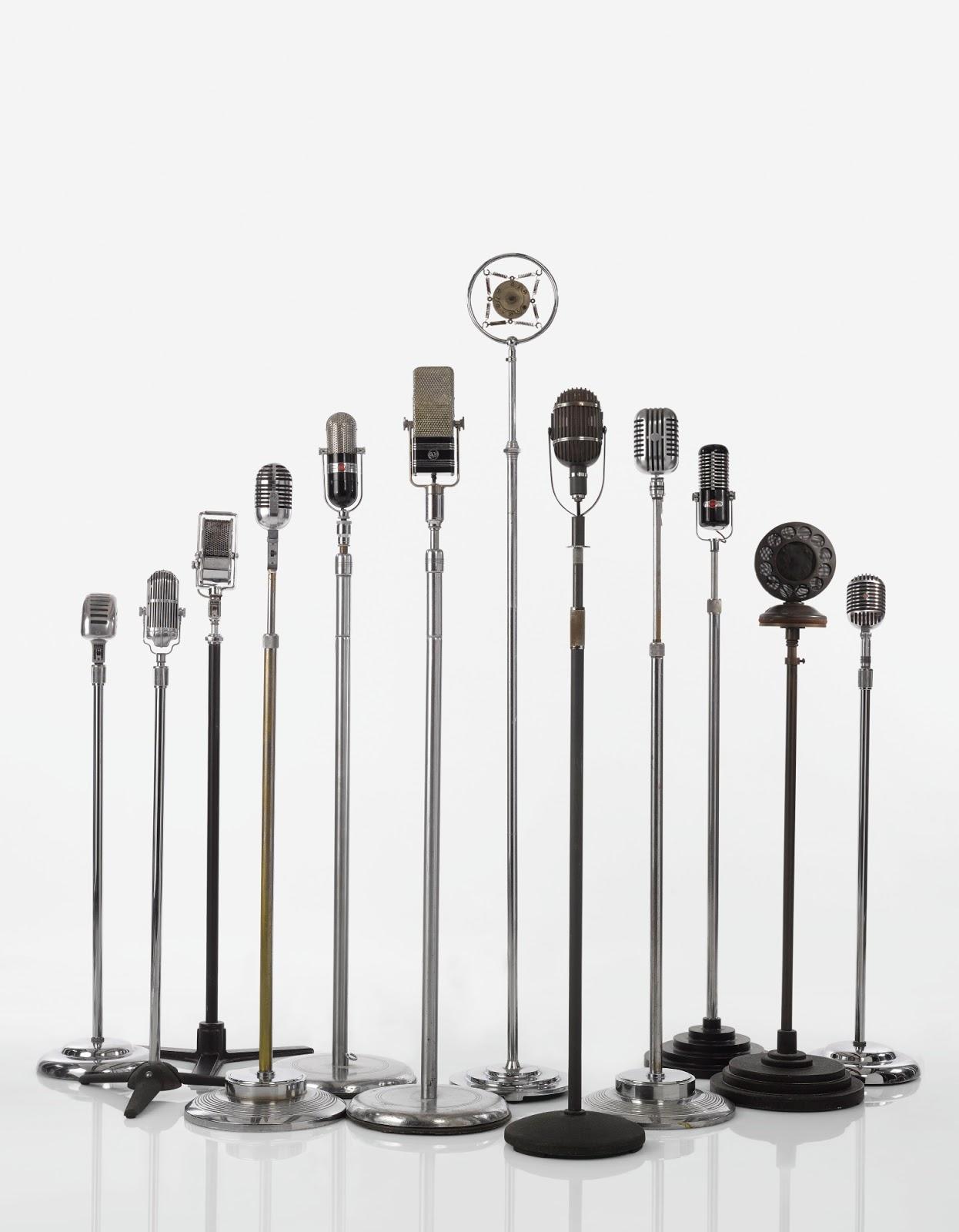 46f20b5b009c7 American Modernist Microphones, 1930s-1940s | BlueisKewl