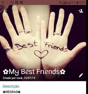 My best Friends - grupo de amizade para whatsapp