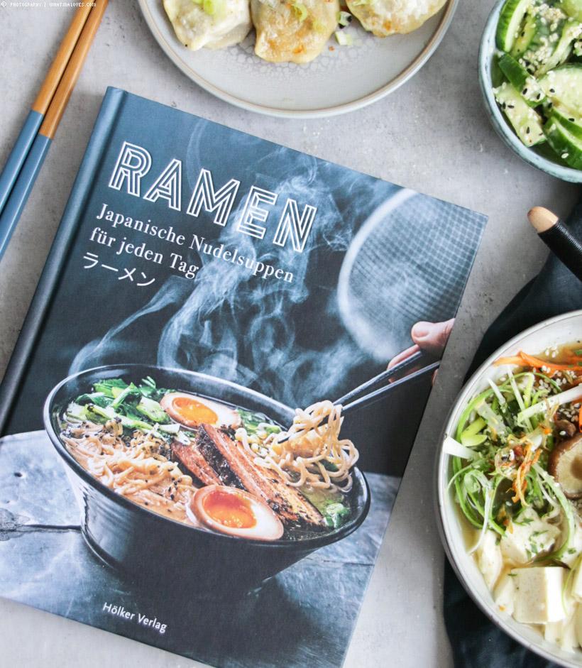 Shiitake-Ramen-Suppe