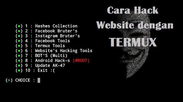 Cara Hack Website dengan Termux