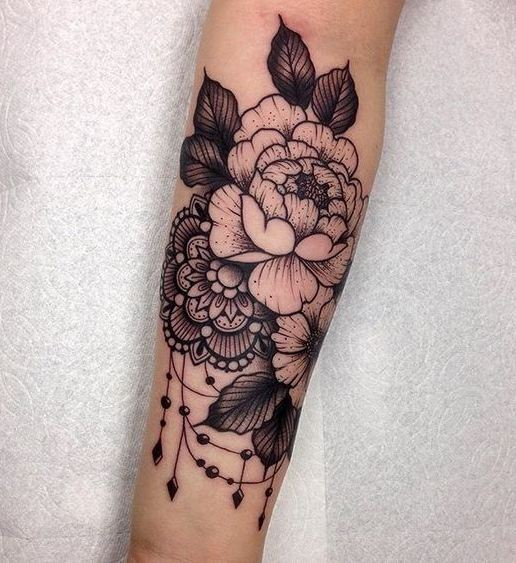 Top 55 Amazing Flower Tattoos For Women And Men 2018 Notcooltobully