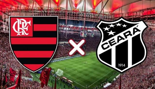 Assistir Flamengo x Ceará ao vivo grátis - Campeonato Brasileiro