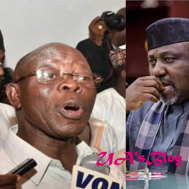 Okorocha Speaks On Rift With Oshiomhole, Dumping Of APC