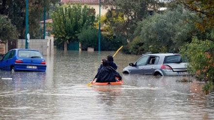 Στους έξι οι νεκροί από τις πλημμύρες στη Γαλλία (video)