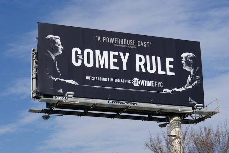 Comey Rule Showtime FYC billboard