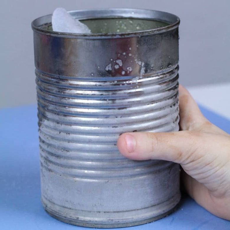 frost in a can winter science activity for kids