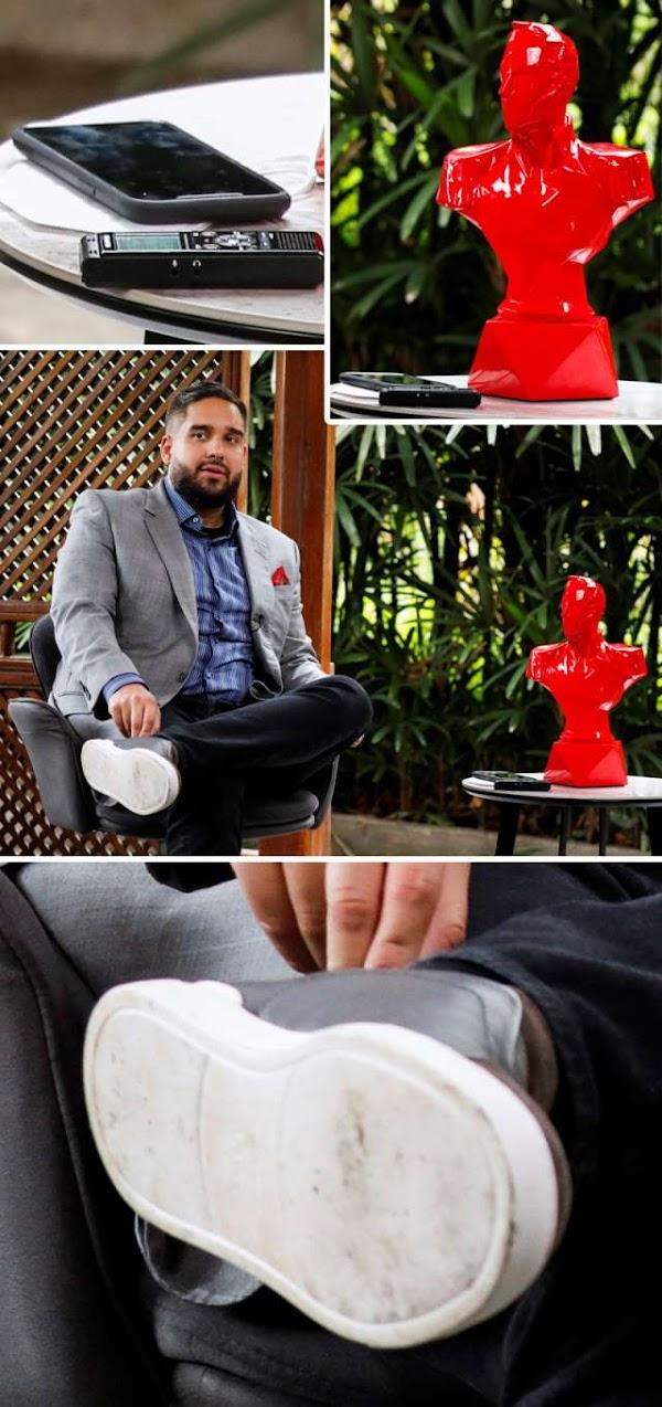 Nicolasito se compró un Apple Watch imperialista y zapatos norteamericanos