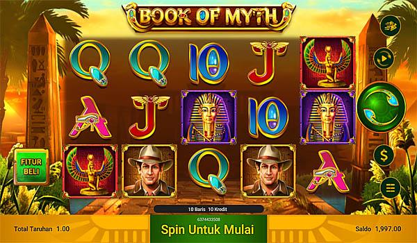 Main Gratis Slot Indonesia - Book of Myth Spadegaming