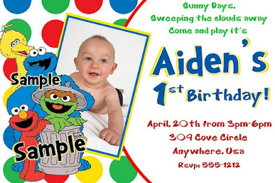 Baby-elmo-first-birthday-invitations